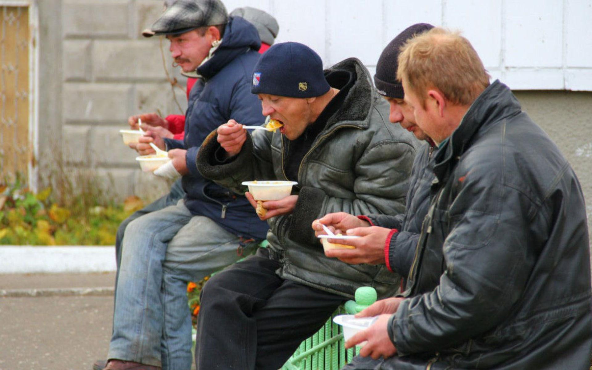 Помощь бездомным и бомжам в Москве